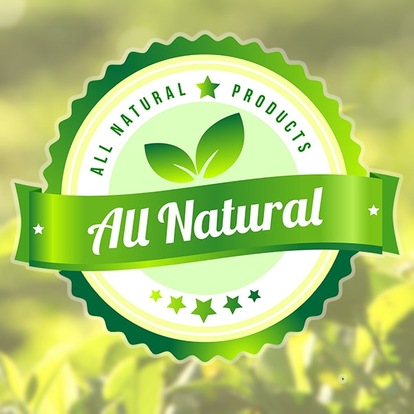 All Natural No Synthetics
