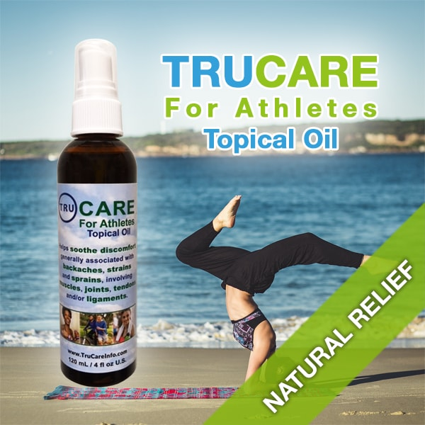 TRUCARE For Athletes Topical Oil